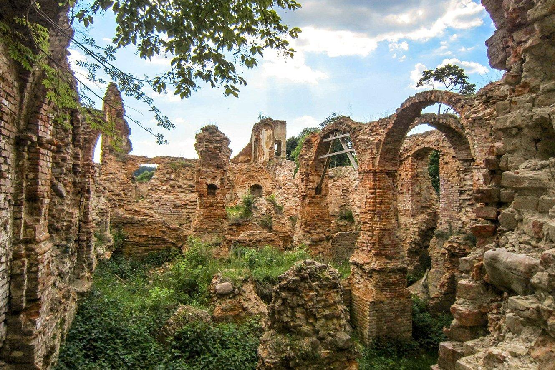 известно, гольшанский замок фото появлении саду или